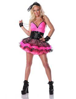 Sexy Adult Halloween Totally 80s Punk Retro School Girl Costume