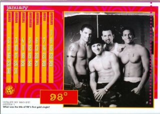 98 Degrees Nick Drew Lachey SHIRTLESS N Sync PINUPS