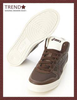 BN Asics Aaron MT Le DX Brown Brown Shoes 24