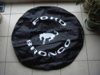 Spare Wheel Tyre Tire Cover Fit Ford Bronco 31 10 5R15