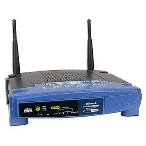 Linksys WRT54GS Wireless G Access Point 4 Port Router w Firewall Speed