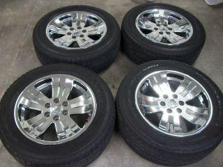 20 chrome GM ACCESSORY silverado tahoe suburban wheels escalade denali