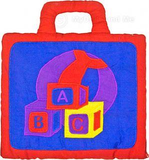 Alphabet Cloth Bag 26 Felt Pieces Children Baby Toddlers Educational