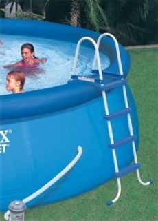 INTEX Above Ground Swimming Pool Ladder w/ Barrier   48 Pools