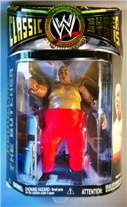 New WWE WWF Classic Superstars Abdullah The Butcher Action Figure