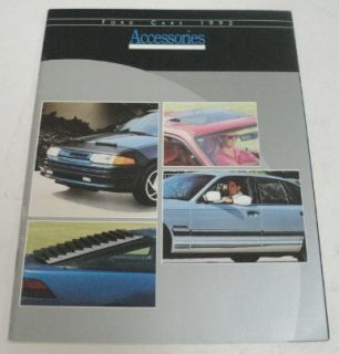 Ford 1992 Accessories Sales Brochure w/ Mustang & TBird