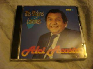 Alci Acosta Mis Mejores Canciones CD Usado Hecho En USA