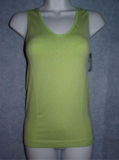 Avia Green Womens Sports Tank Active Wear Small Medium