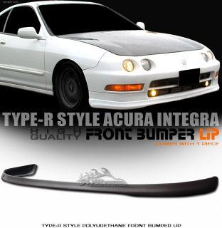 1994 1997 Acura Integra DC2 JDM T R Style PU Front Bumper Lip Spoiler