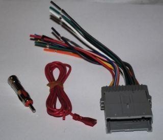 4004 GM A36 Car Radio Factory Wiring Harness Antenna Adapter GM