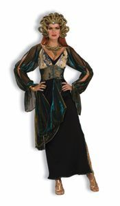 Medusa Adult Halloween Costume Size Standard includes Headpiece