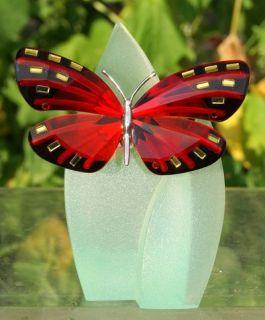 Swarovski Crystal Butterfly Paradise Adena Light Siam Retired 622 737