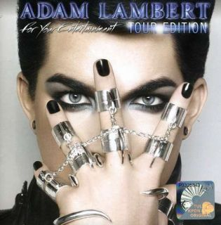 Adam Lambert for Your Entertainment Tour Edition CD DVD