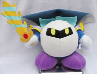 Nintendo Kirby Adventure Plush Doll 6 Meta Knight Cool