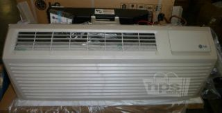 LG LP076HD3A 7 300 BTU Terminal Air Conditioner with 6100 BTU Heat