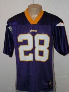 Reebok Adrian Peterson 28 Minnesota Vikings NFL Jersey Mens M