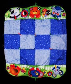 Fisher Price ACTIVITY MAT   Baby / Infant Toy Play w/ FARM ANIMALS Boy