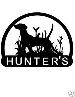 Gun Dog Mailbox Topper Address Sign Home Bird Hunting