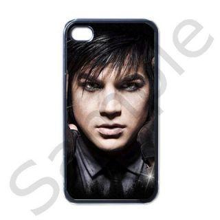 Adam Lambert Apple iPhone 4 Case Black 2011 Design
