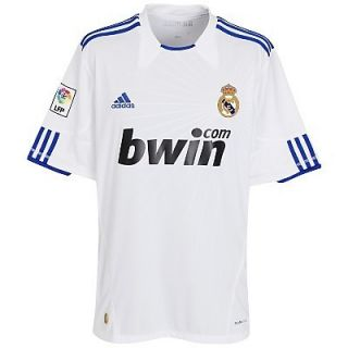 Real Madrid Adidas Bwin Soccer Jersey Size Medium