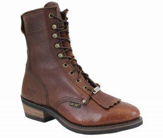 Hypard AdTec 1174 Steel Toe Mens Western Packer Boot