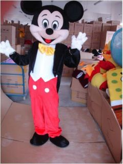 100 Brand New Mickey Mouse Mascot Costume Adult Size Halloween Big