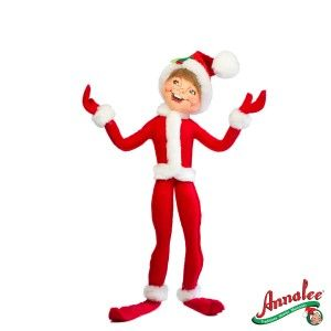 New Annalee 14 Cozy Christmas Elf 2012 Collectible Christmas Figure