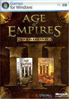 AGE OF EMPIRES 3   GOLD W/ Age of Empires III & Age of Empires III war
