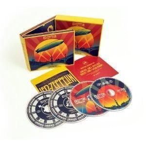 Cent CD LED Zeppelin Celebration Day Big 4DISC Set 2CD 2DVD SEALED