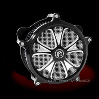 Performance Machine Luxe Contrast Cut Air Cleaner Harley Touring