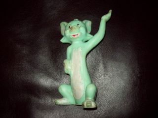 RARE VINTAGE ALAN JAY TOM CAT FROM TOM & JERRY CARTOON SQUEAKY TOY