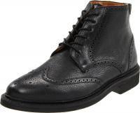 Florsheim Hawley Men Black Leather Ankle Boot Retail Price $145 NWB
