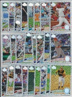 Albert Pujols 25 C Lot 2011 Topps Diamond Anniversary