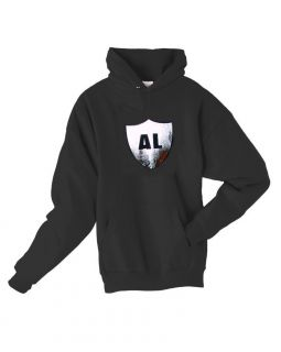 Al Davis Oakland Raiders Hooded Sweatshirt Honoring The Memory Silver
