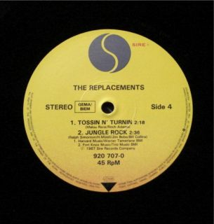 The Replacements The Ledge 1987 Germany 2X 12 Mint Vinyl Paul