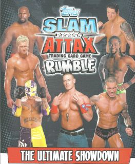 Topps WWE Slam Attax Rumble Raw Trading Card See Which Cards Available
