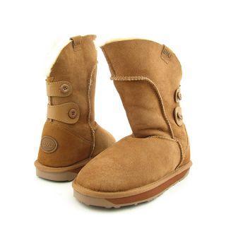 Emu Australia Alba Womens Sz 8 Brown Chestnut Boots Fashion Mid Calf