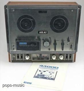 akai 4400d stereo reel to reel tape deck vintage akai 4400d stereo