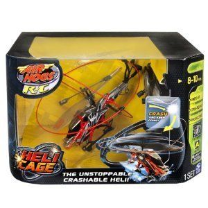 Air Hogs Heli Cage Red New Control Remote Radio Vehicles Kids for