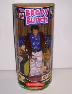 Greg Brady The Brady Bunch 9 Doll Action Figure NRFB 1998 Limited