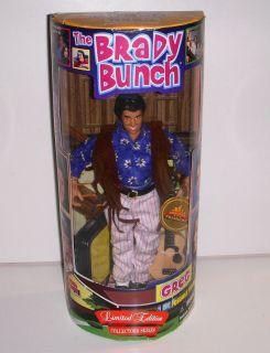 Greg Brady The Brady Bunch 9 Doll Action Figure NRFB 1998 Limited