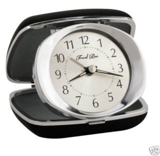 Westclox Analog Travel Ben Alarm Clock Light and Snooze