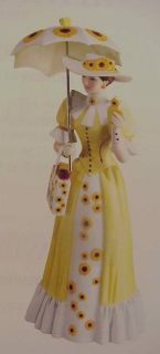 Avon Mrs PFE Albee 2012 Porcelain Figurine Full Size Presidents Club