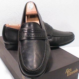 Allen Edmonds Forti Black Loafer Dress Shoe 10 1 2 D SHIP Freight Free