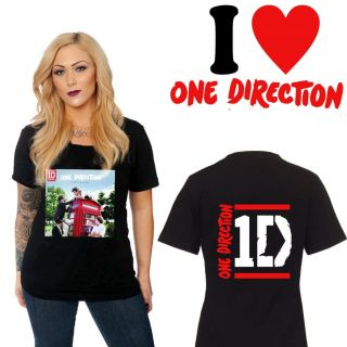Direction Take Me Home CD Albums Tour 2012 Two Side Black Shirt