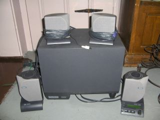 Altec Lansing THX Sound System with 4 Speakers