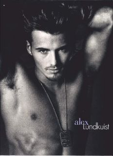 Alex Lundqvist Poster [17 x 24] Hot Male Model #1