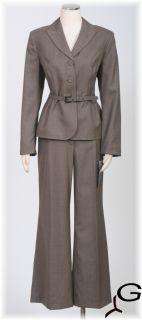 New Anne Klein Womens Pant Suit Sz 14P $280