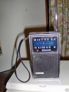Vintage Electra Am FM Transistor Pocket Radio
