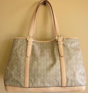 198 Michael Kors Amagansett Monogram Large Tote Authentic New with